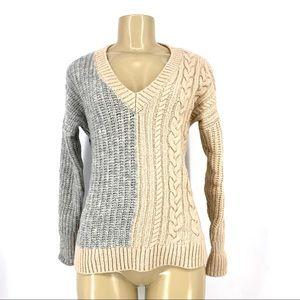 Banana Republic Women v-neck Wool Blend Sweater